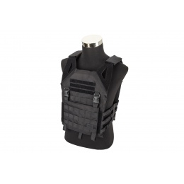 Lancer Tactical Lightweight Plate Carrier w/ Foam Dummy Plates (Black)