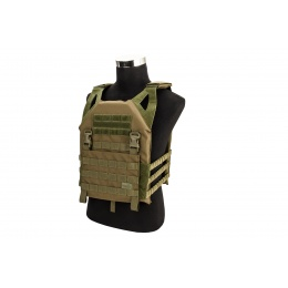 Lancer Tactical Lightweight Plate Carrier w/ Foam Dummy Plates (OD Green)