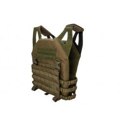 Lancer Tactical Lightweight Plate Carrier w/ Foam Dummy Plates (OD Green)