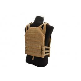 Lancer Tactical Lightweight Plate Carrier w/ Foam Dummy Plates (Khaki)