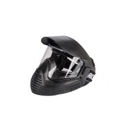 Lancer Tactical Full Face Airsoft Mask w/ Visor (Black)