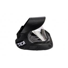 Lancer Tactical Full Face Airsoft Mask w/ Visor (Black)