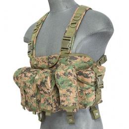 Lancer Tactical Fully Adjustable AK Chest Rig [Nylon] - WOODLAND