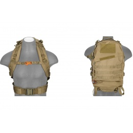 Lancer Tactical 3-Day Assault Pack (Color: Tan)