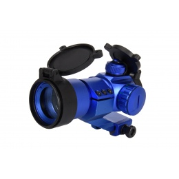 Lancer Tactical Red & Green Dot Cantilever Prism Scope (Blue)