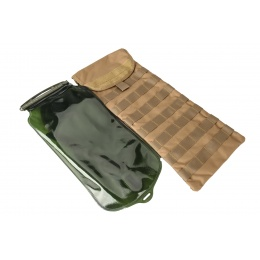 WoSport Hydration Bladder with Molle Sleeve (Tan)
