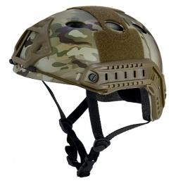 Lancer Tactical Fast PJ Type Tactical Gear Helmet - MODERN CAMO