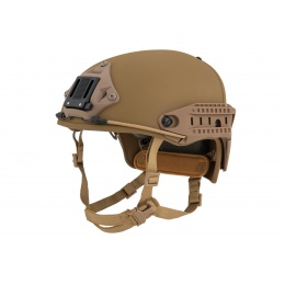 Lancer Tactical Airsoft BUMP Two-Piece CP AF Helmet - DARK EARTH - M/L