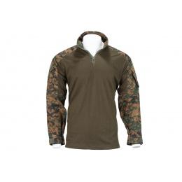 Lancer Tactical GEN3 Tactical Apparel Combat Shirt - Jungle Digital - SM