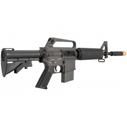Classic Army XM177 E2 Carbine Airsoft AEG Rifle - BLACK