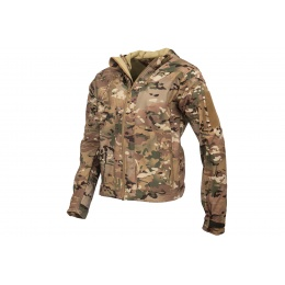 Lancer Tactical Airsoft Softshell BDU Jacket - CAMO