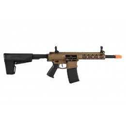 Classic Army DT4 Double Barrel M4 Airsoft Rifle (Bronze FDE)