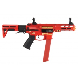 Classic Army Nemesis X9 PDW SMG AEG (Red)