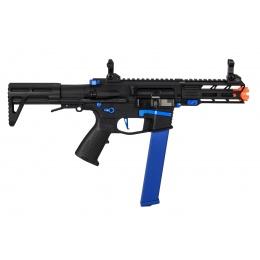 Classic Army Nemesis X9 AEG Airsoft SMG (Black / Blue)