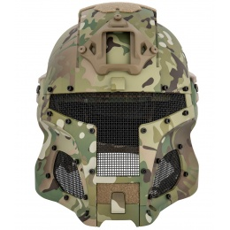 AMA Interstellar Battle Trooper Full Face Airsoft Helmet