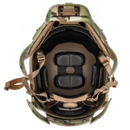 AMA Interstellar Battle Trooper Full Face Airsoft Helmet