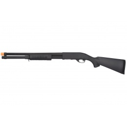 Classic Army Airsoft CA870 Tactical Spring Shotgun - BLACK