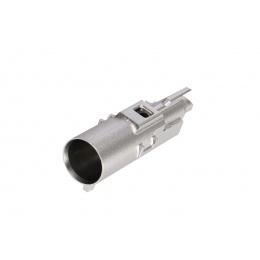 COWCOW CNC Aluminum High Flow Nozzle for TM Hi-Capa/1911 Pistols (Silver)