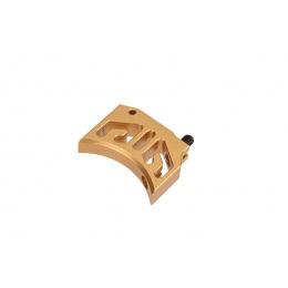 CowCow Type 1 CNC Aluminum Trigger for TM Hi-Capa/1911 Pistols (Gold)
