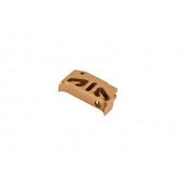 CowCow Type 2 CNC Aluminum Trigger for TM Hi-Capa/1911 Pistols (Gold)