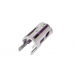 CowCow Technology CNC Aluminum B02 Dynamic Blowback Housing for TM Hi-Capa / 1911 Pistol (Silver)