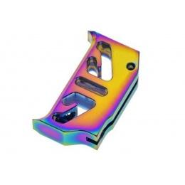 CowCow T2 Aluminum Trigger for Tokyo Marui Hi-Capa/1911 GBB Pistols (Color: Rainbow)