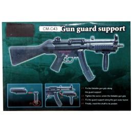 CYMA MP5 Tri-Rail Handguard C43 Support Set w/ Foregrip & Outer Barrel