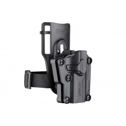 Cytac Hard Shell Multi-Fit Low Ride Leg Holster (Color: Black)