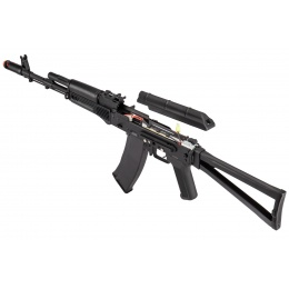 Double Bell AKS-74 Airsoft AEG Rifle - BLACK