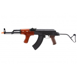 Double Bell AK74 Full Metal Airsoft Rifle w/ Wood Furniture (Color: Black)