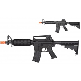 Double Bell M4 CQB AEG Airsoft Rifle w/ Metal Gearbox [Polymer Body] - BLACK