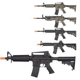 Double Bell M4 AEG Airsoft Rifle w/ Metal Gearbox [Polymer Body]