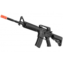 Double Bell M4 RIS Carbine AEG Full Metal Airsoft Rifle - BLACK