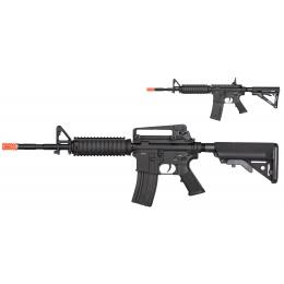 Double Bell M4 RIS Carbine AEG Full Metal Airsoft Rifle - BLACK