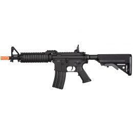 Double Bell M4-CQB RIS AEG Full Metal Airsoft Rifle w/ Riser Mount - BLACK