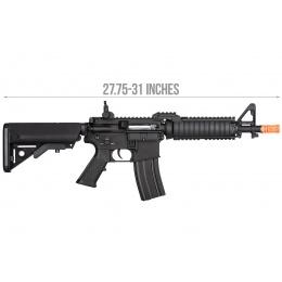 Double Bell M4-CQB RIS AEG Full Metal Airsoft Rifle w/ Riser Mount - BLACK
