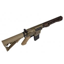 Double Bell M4 12-Inch RIS Airsoft AEG Rifle (Tan)