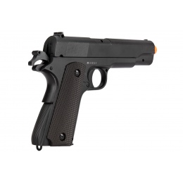 Double Bell M1911 WWII Airsoft Spring Pistol [Metal Body] - BLACK