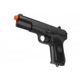 Double Bell TT-33 Airsoft Spring Pistol [Metal Body] - BLACK