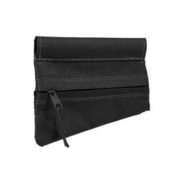 Double Bell AK Triangle Stock Pouch (Color: Black)
