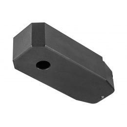 Double Bell M4/AR Magazine Base Plate - BLACK