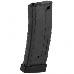 Double Bell 120rd Mid Cap M4 Airsoft AEG Magazine w/ Tactical Base Plate - BLACK