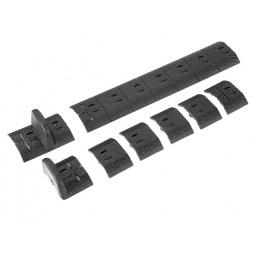 Noveske NSR Keymod Direct Attach RIS Polymer Accessory Pack - BLACK
