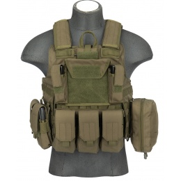 AMA Rapid Response Maritime MOLLE Plate Carrier [1000D] - OD GREEN