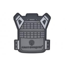 Emerson Gear Plate Carrier Vest PVC Morale Patch - BLACK