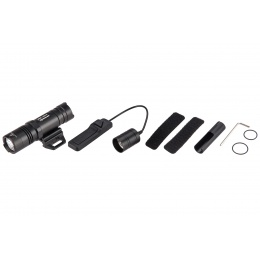 Opsmen FAST 302R WeaponLight 400-Lumen Flashlight for Picatinny Rail - BLACK