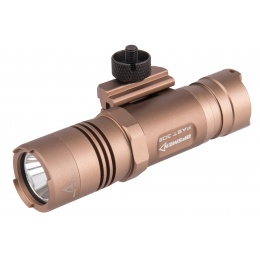 Opsmen FAST 302R WeaponLight 400-Lumen Flashlight for Picatinny Rail - TAN