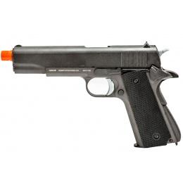 WellFire 1911 CO2 Gas Blowback Pistol (Color: Gun Metal Gray)