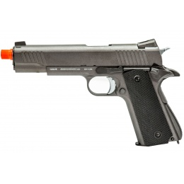 WellFire Tactical 1911 CO2 Gas Blowback Pistol (Color: Gun Metal Gray)