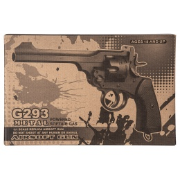 Well G293 CO2 Revolver (Black)